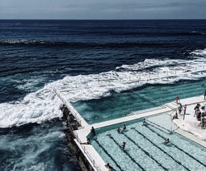 australia, bondi, and calm image