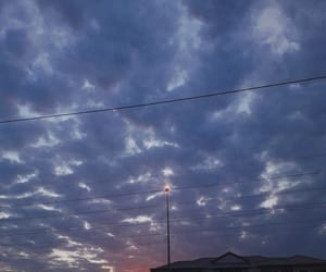 morning, purple, and sky image