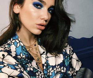 blue, girl, and style image