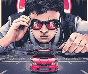 baby, baby driver, and ansel elgort image