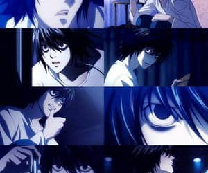 aesthetic, death note, and light image