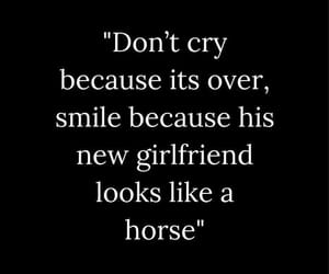 boyfriend, quote, and don t cry image