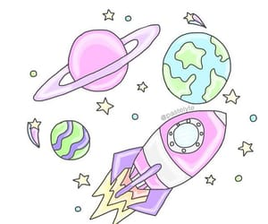 doodle and galaxi image