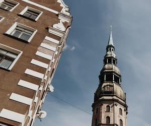 architecture, church, and riga image
