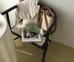 aesthetic, chair, and bag image