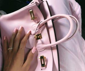pink, fashion, and nails image