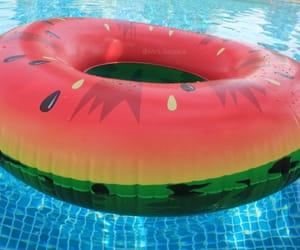 fruit, pool, and sunshine image