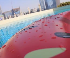 Dubai, photograph, and pool image