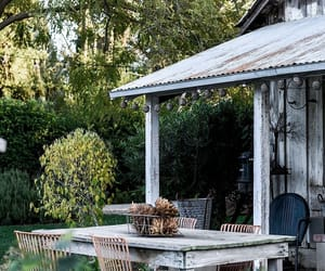 simplicity, via oldfarmhouse, and outdoor dining image