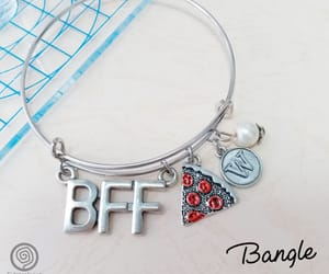 bff, charm necklaces, and best friend forever image