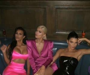 kylie jenner, kardashian, and kendall jenner image