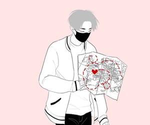 grey, heart, and korea image