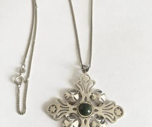 etsy, necklace, and sterling silver image