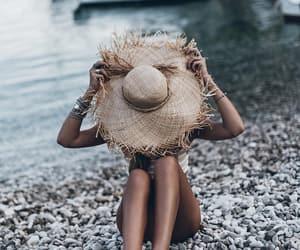 beach, Croatia, and fashion image