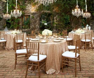 decoration, wedding, and place image