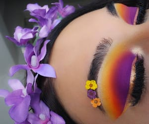 perfect eyelashes, flowers spring nature, and perfection flawless image