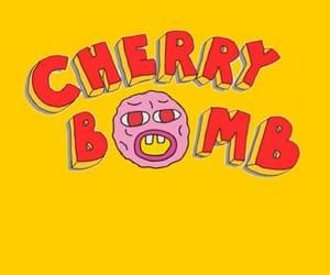 cherry bomb, tyler the creator, and cherry image