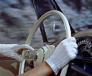 vintage, car, and gloves image