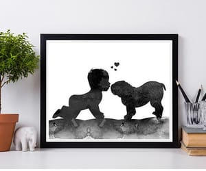 baby, etsy, and baby shower gift image