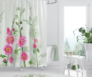 shower curtain, shower curtains, and bathroom ideas image