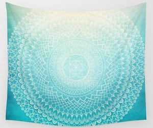 etsy, sacred geometry, and wall tapestry image