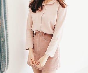fashion, pink, and korean image
