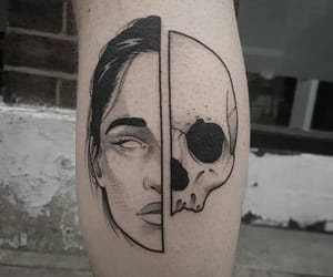alternative, indie, and skull image
