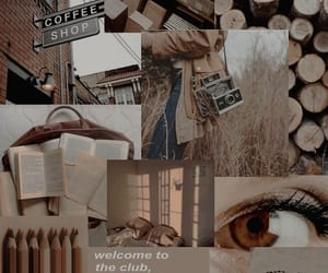 aesthetic, brown, and moodboard image