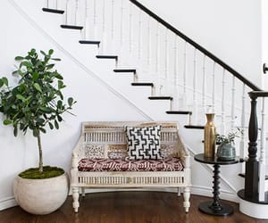 eclectic decor, modern home tour, and bohemian home tour image
