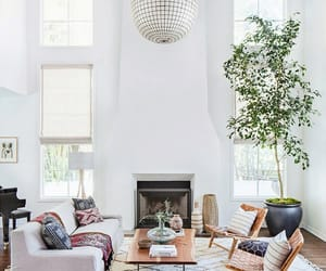 eclectic decor, modern eclectic decor, and modern home tour image