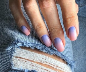 nails, beautiful, and manicure image