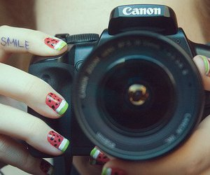 canon, girl, and smile image