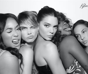 models, party, and cara delevingne image