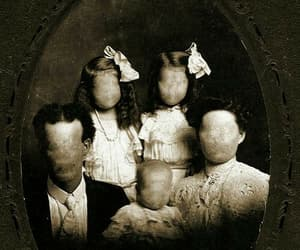 family, horror, and creepy image