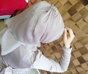 girl, hijab, and model image