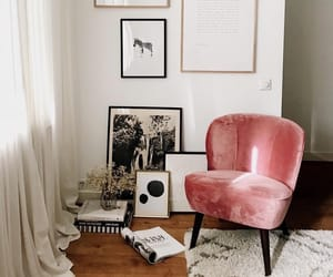 home, interior, and vogue image