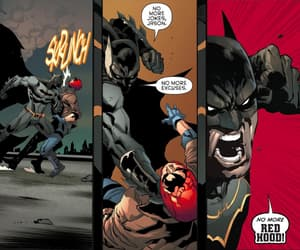 batman, red hood, and red hood and the outlaws image