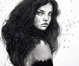 arte, belleza, and dibujo image