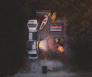 camping, summer, and goodvibes image