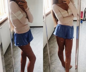 beauty, look, and outfit image