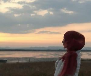 hijab, paysage, and muslima image
