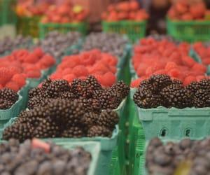 berries, black berries, and raspberries image