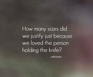 pain, quotes, and scars image