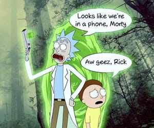 tv show, rick and morty, and wallpaper image