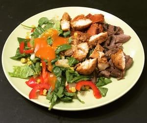 carne, steak, and pollo image