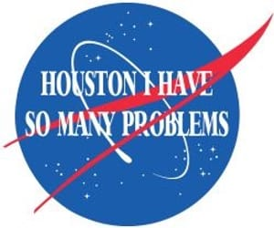 problem, houston, and nasa image