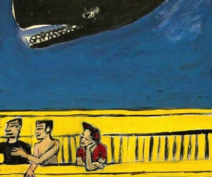 art brut, whales, and folk art image