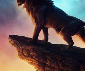 leao, lion, and sad image