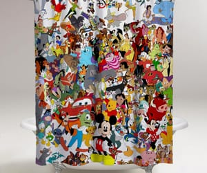 accessories, disney, and shower curtain image