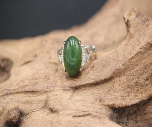 etsy, gemstone ring, and engagement ring image